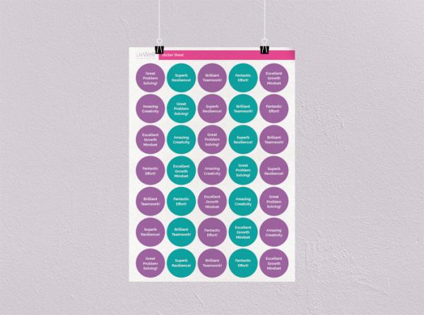 Circle Stickers - 35 Sheet Image