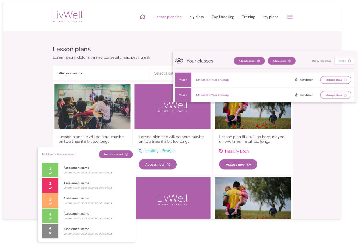 LivWell Screenshot
